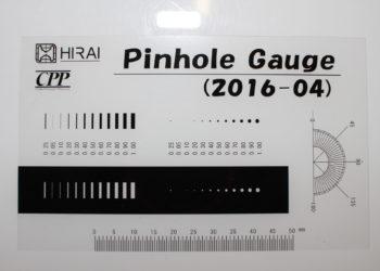 フィルムゲージ・フィルムチャート