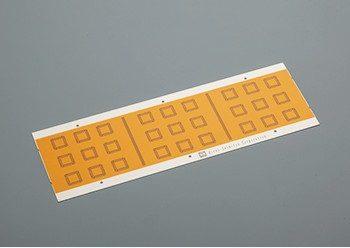 エッチング加工品へのテープ接着加工